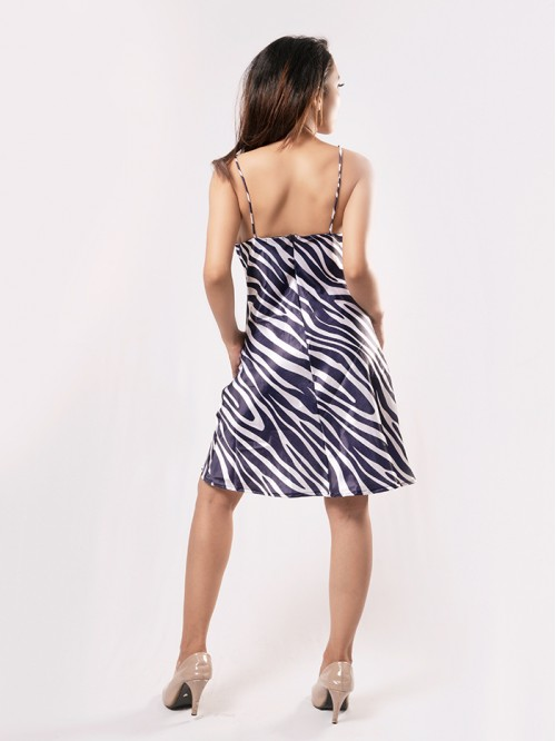 Sling Cowl Neck Dress