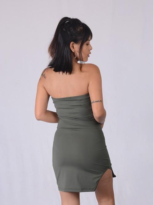 Tube Slit Dress