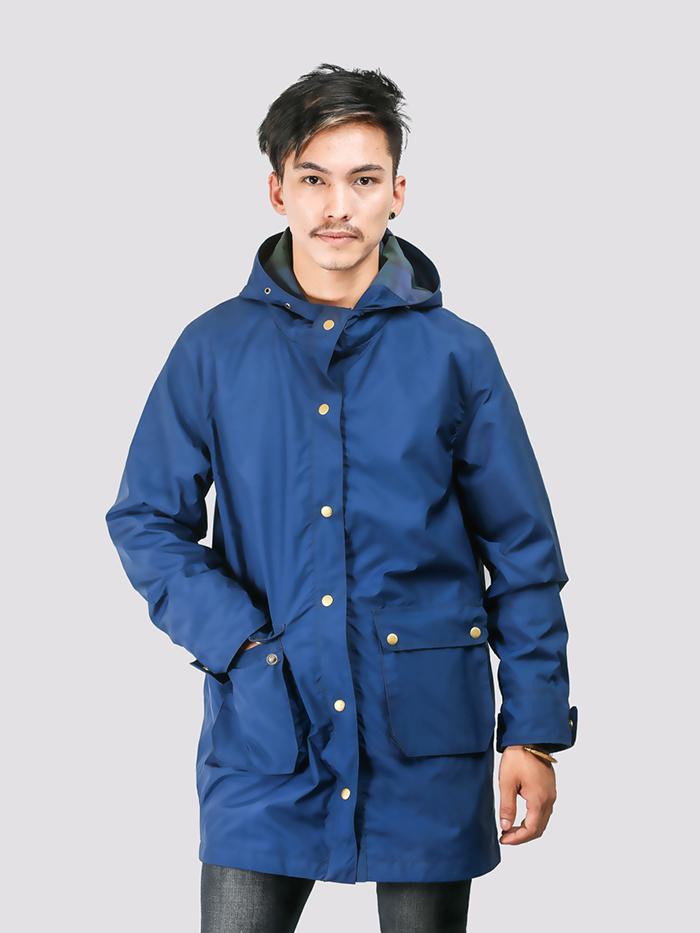 Blue Parka Jacket