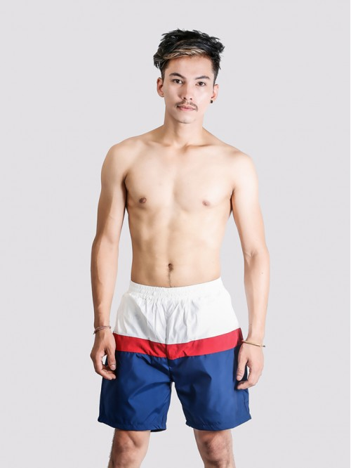 Men's 3 Colour Contrast Trunk