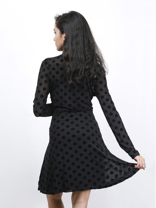 Round Neck Full Sleeve Dress