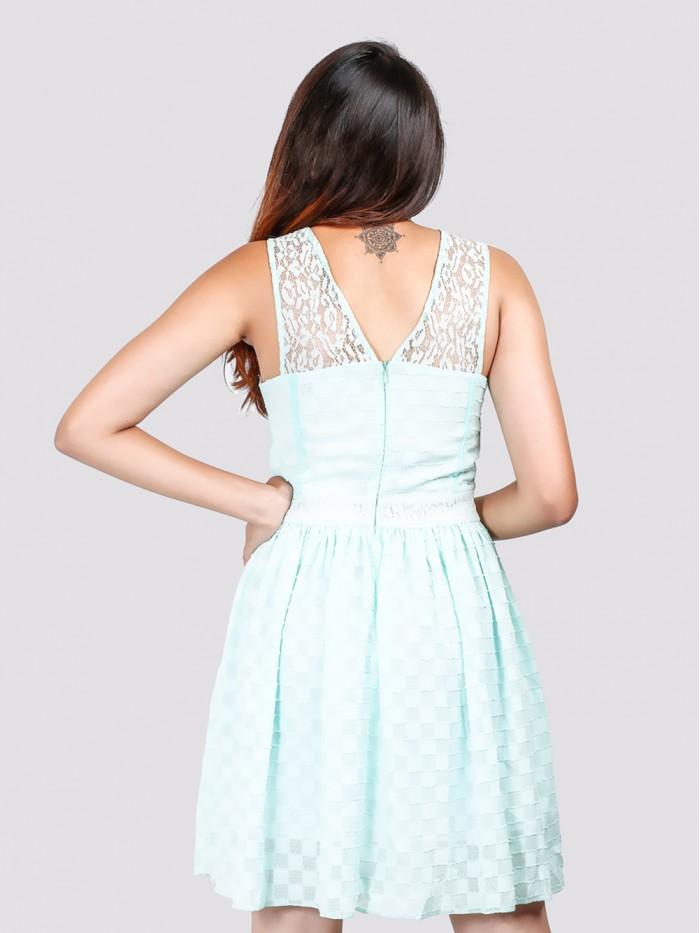 Lace Skater Sun Dress