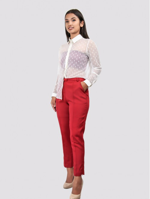 Red Cigarette Trouser