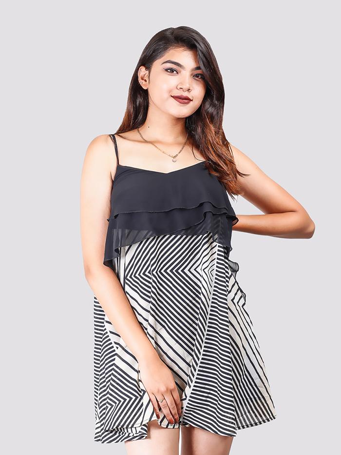 Layer A-Line Sling Dress
