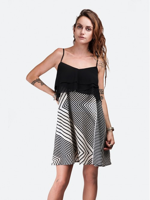Layer A-Line Sling Dress