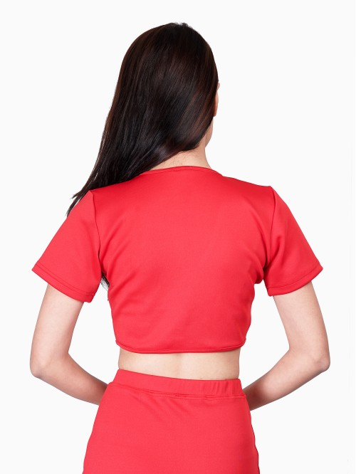Red Hailey Inspired Top