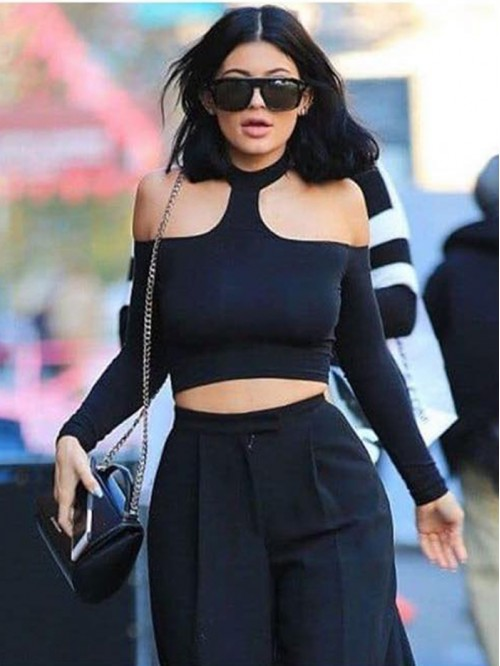 Kylie Inspired Choker Top
