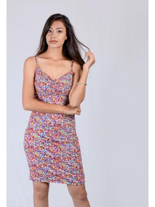Front Crease Sling Dress