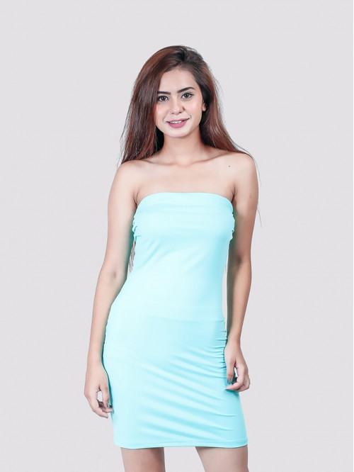 Mint Tube Dress