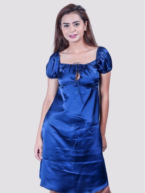 Milkmaid Front Lace Details Dress