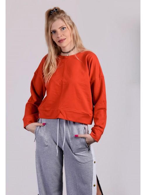 Orange Kylie Inspired Sweatshirt
