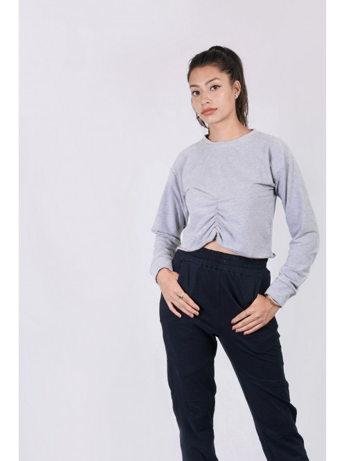 Front Crease Sweatshirt