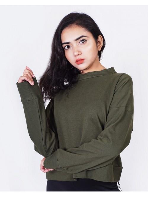 Khaki Kylie Inspired Sweatshirt