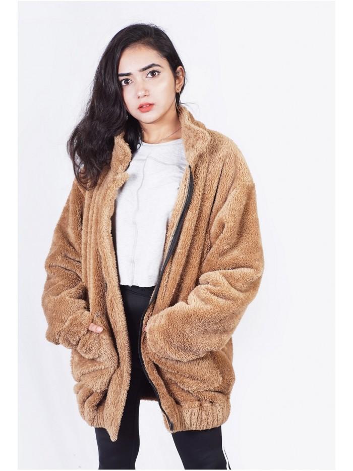 Terry Fur Jacket