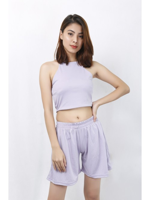 Lilac Flare Short
