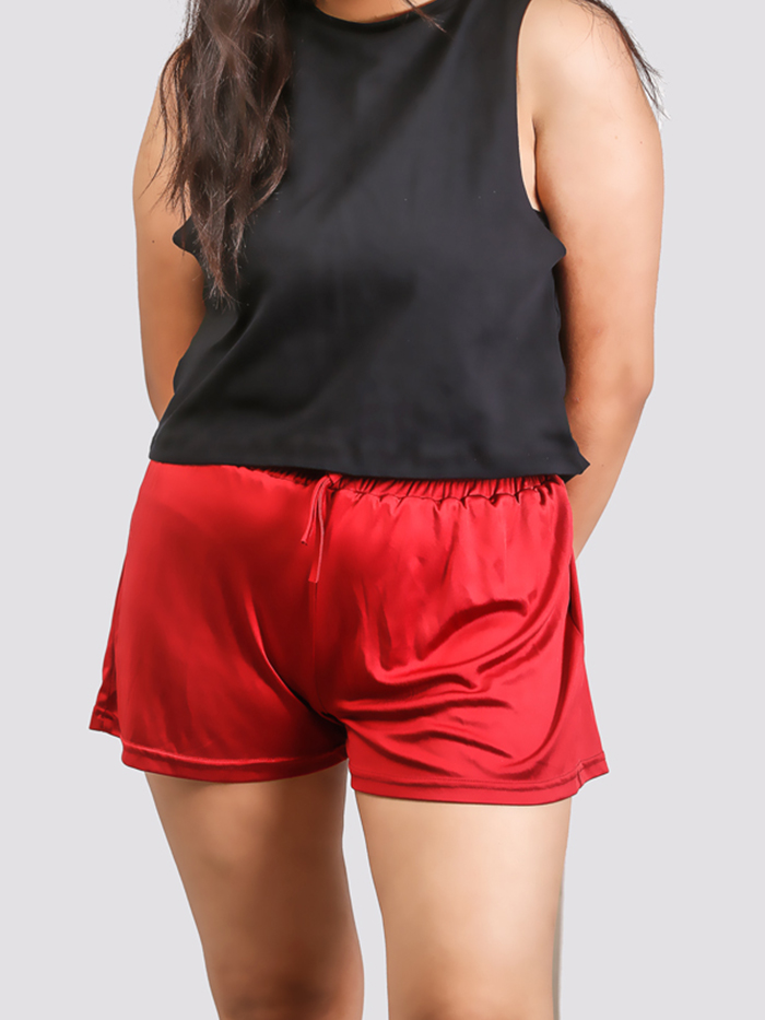 Red Flare Short
