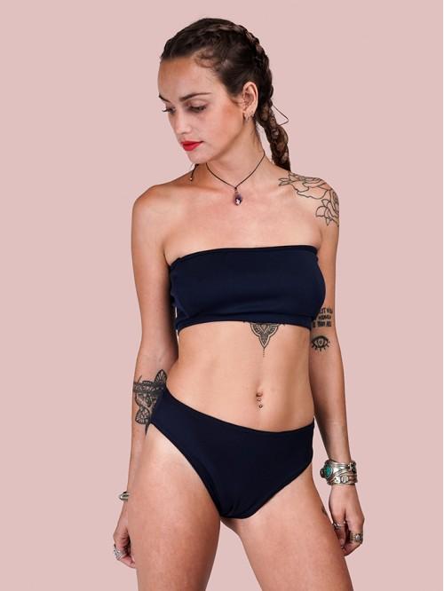 Black Tube Bikini
