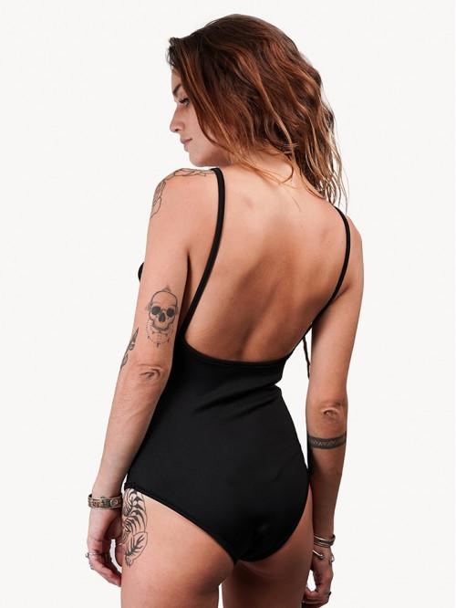 V Neck Sling Backless Swimsuit