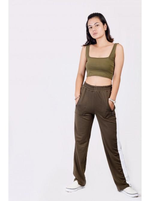 Sando Style Crop Top